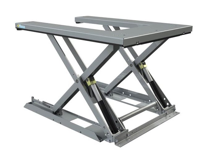 U shaped Scissor Lift Table