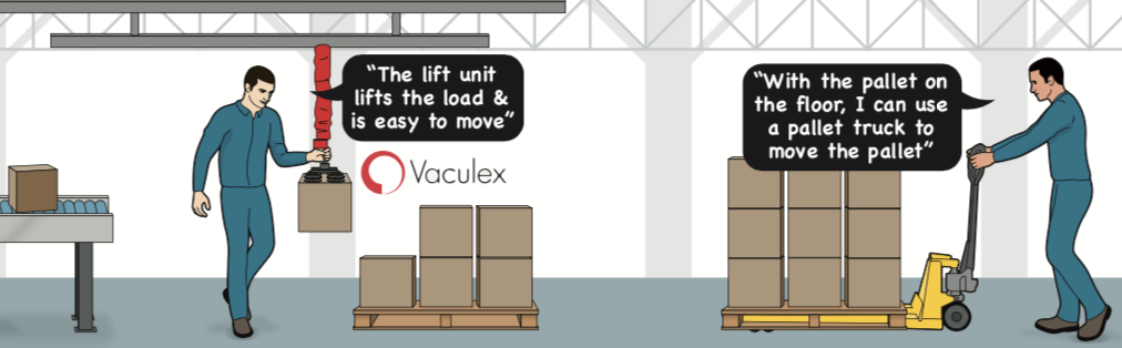 Vaculex Palletizing Solution